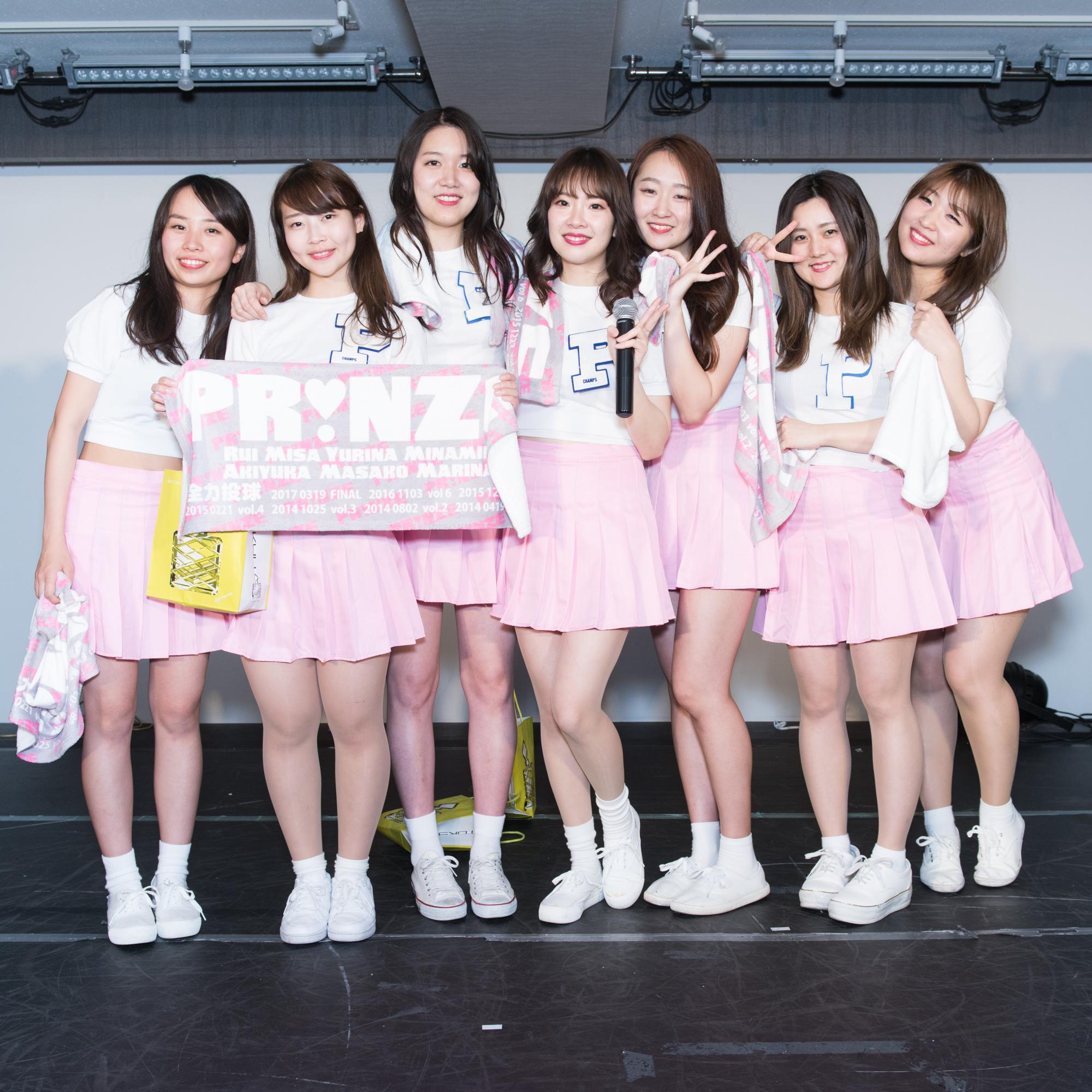 イベント終了後メンバーのグループ写真