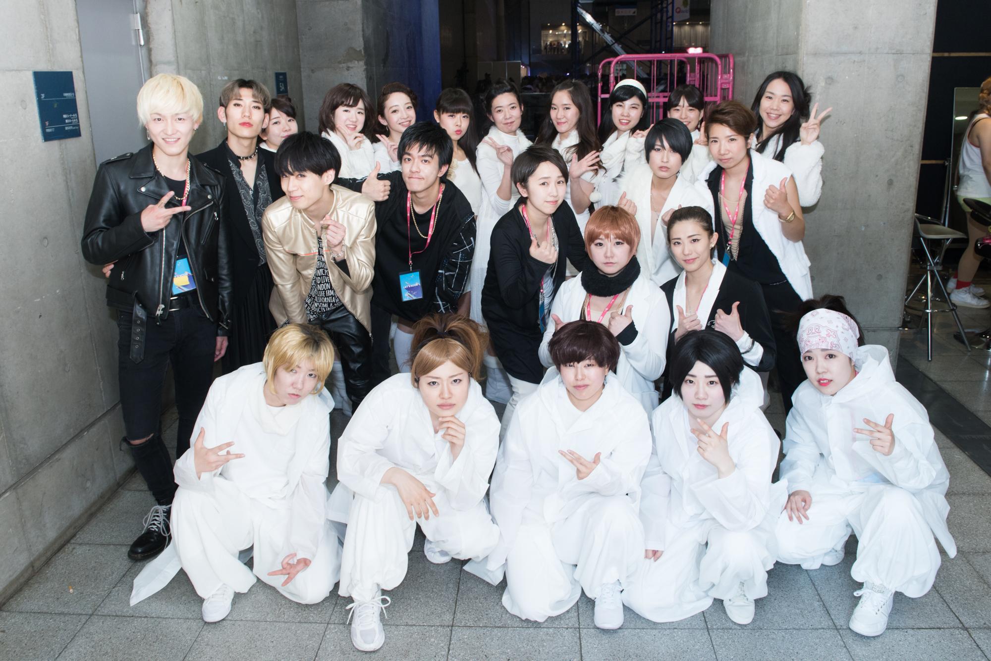 21日(日) SM entertainment所属アーティストカバーグループ集合写真