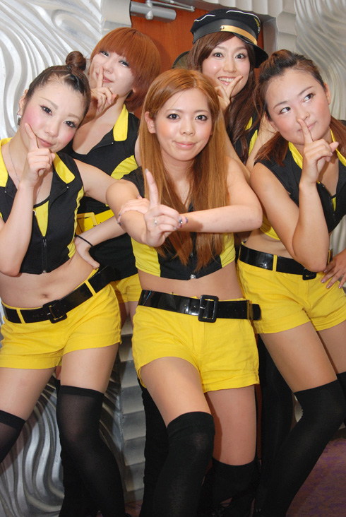 2011年8月14日「K-POP OBON NIGHT In Seichi」3日目にて
