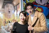 日本初公演中のミン・ジヒョク カンホドンチキン来店