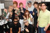 [bto]BN Presents 『K-POP LIVE』出演者集合写真(2013/6/7)