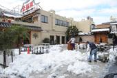 雪(2014/2/15) 大使館・大久保公園