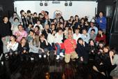 ユニークラボラトリーOPENING PARTY K-POP SIDE 集合写真