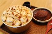 [雪華]きなこ餅かき氷/マンゴーかき氷