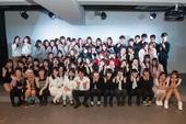 K-POPカバーダンス新人発表会 出演者集合写真
