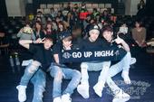 HIGH4 50回ライブ開始 純情少年も観覧