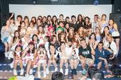 夏のGIRLS K-POP祭り 出演者集合写真