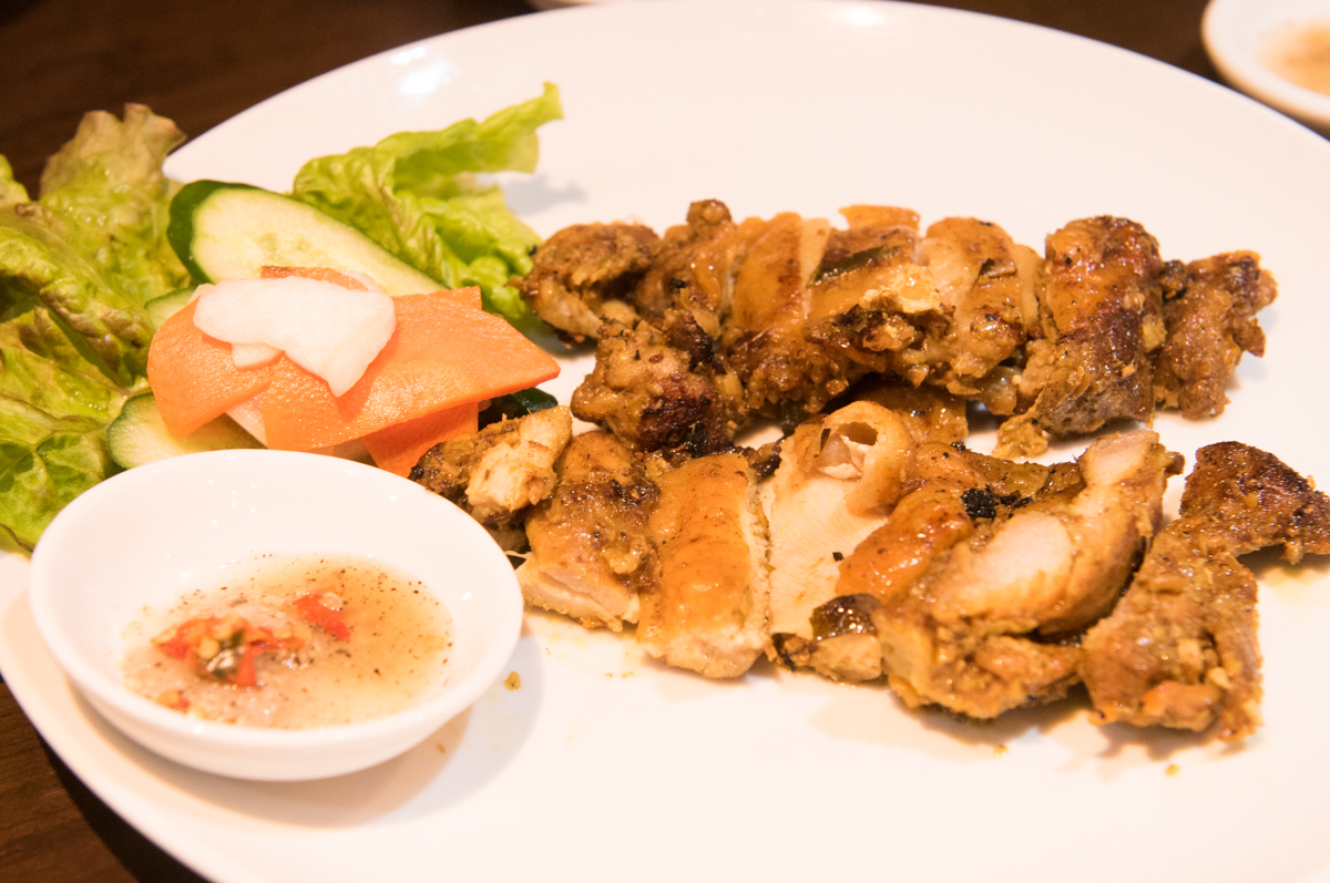 鶏肉のレモンリーフ焼き