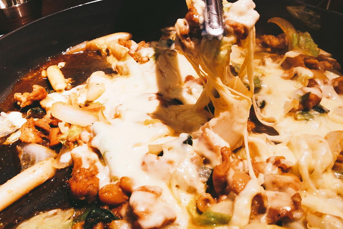 照り焼きチーズタッカルビ