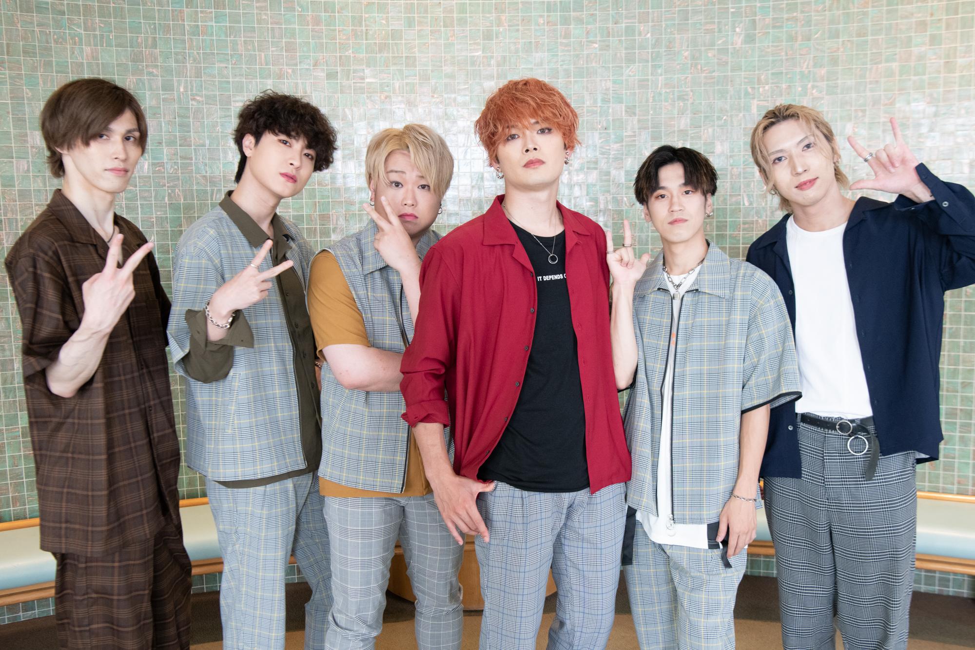 左から)安江晶野 / MELO / 藤戸佑飛 / 河野凌太 / RYOGA / TENMA